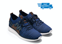 🔥COLE HAAN GrandMotion Men's Woven Sneaker with Stitchlite C27735 Navy Ink NEW!