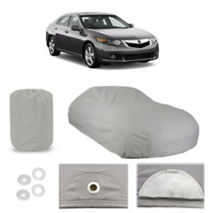 Fits Acura Tsx 5 Layer Car Cover Fitted Water Proof Outdoor Rain Snow Sun Dust