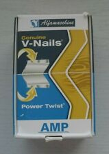 Alfamacchine Power Twist Wedges 15mm Medium 2000pcs Minigraf Underpinner V Nails