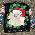 Vintage Lisa Coufal Holy Grail Mother Of All Ugly Christmas Sweater XL Santa