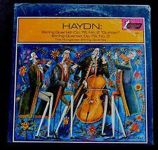 HAYDN STRING QUARTETS OP. 76 NO.2/OP. 76 NO.5 HUNGARIAN STRING QUARTET SEALED LP