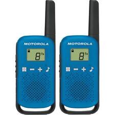 Motorola T42 Talkabout Blau PMR-Funkgerät LCD-Display Gürtelclip