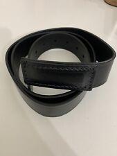 Red Kap Mechanics Belt L 40-44 No Scratch Top Grain Leather Industries Black