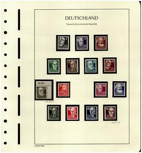 DDR - Freimarken Persönlichkeiten Speziallot ab Michel 327 ** viel BPP 2550,- M€