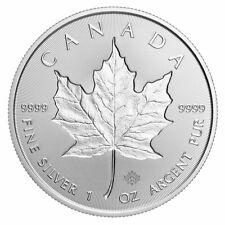 2019 Canada 1 oz Silver Maple Leaf Incuse $5 Coin GEM BU SKU57178