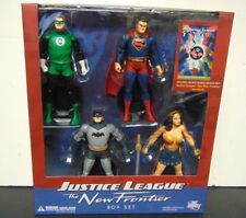 DC Direct Justice League The New Frontier Box Set - Batman Superman Wonder Green