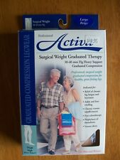 Activa, H4203, Surgical Weight, Large, Thigh High, Beige, 30-40 mmHg, New