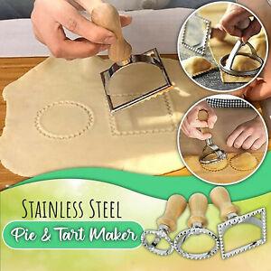 New Stainless Steel Pasta Hand-Cutting Machine Embossed Dumpling Embossing Tool