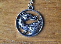 Mortal Kombat Dragon Necklace Pendant
