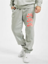 Nike SB Icon Fleece Skate Pants Mens Bottoms Grey Size M Casual Sportswear