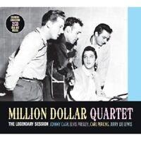MILLION DOLLAR QUARTET (PRESLEY/CASH/PERKINS/+)-THE LEGENDARY SESSION  2 CD NEW!