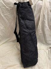 Lululemon The Yoga Bag 14L Water-Repellent ASHD/Black NWT Diagonal Zip