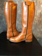 Harry/'s Horse Damen Leder-Reitstiefel Elite Cognac weites Wadenmaß Gr 36-42