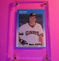 WILL CLARK 1987 Fleer GLOSSY #269 Rookie RC MINT (fresh from set)