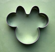 Minnie Mouse fondant pastry biscuit metal cookie cutter mold 7695