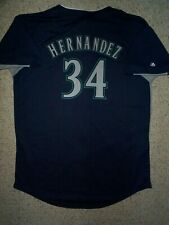 ($50) Seattle Mariners FELIX HERNANDEZ mlb Baseball Jersey YOUTH KIDS BOYS (xl)