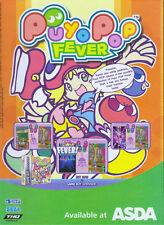 "Puyo Pop fever ""Out Now Asda"" ""Gameboy Advance"" 2005 Magazine Advert #4809"