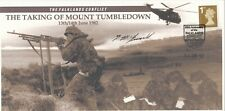 Falklands War  Taking of Mount Tumbledown Signed Tom McGuinness in the action