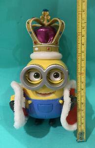 "VHTF!! Despicable Me Minions Movie British Invasion ""King Bob "" Action Figure"
