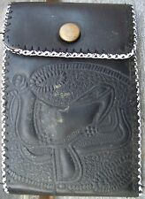 Child's Western Wallet, Leather, Vintage Cowboy