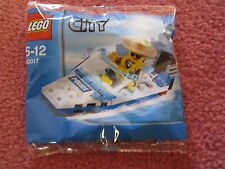 LEGO CITY POLICE BOAT 30017 - NEW/SEALED