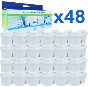 48 Jug Water Filter Cartridges Compatible with Brita Maxtra filter jug