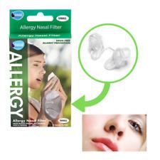 Nasal Filter Allergy Prevention Hay Fever Dust Pet Dander Sneeze Drug Free