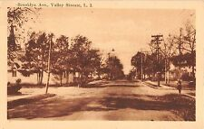c.1910 Homes Brooklyn Ave. Valley Stream LI NY post card