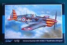 "Morane-Saulnier MS.406C.1 ""Red & Yellow Stripes""  AZUR Kit plastica scala 1/72"