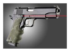 Hogue 45081 Laser Enhanced Grip 1911 Govt Model OD Rubber Grip Finger Grooves