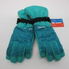 Water Proof Ziener Ladies Ski Gloves AS 7.0 M Green Black AquaShield Long Cuff