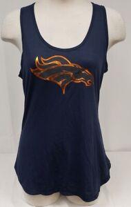 Brand New Women's Majestic NFL Denver Tank Top Shirt