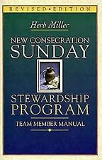 New Consecration Sunday Stewardship Program: Team Member Manual (Paperback or So