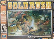 "NEXUS 1/72 Maquette Figurine  ""GOLD RUSH"" 48 Pièces Neuf Stock Ancien"
