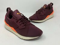 Puma Muse Chase Women's Shoes Fig-Shocking Orange 367742-02 Size 9