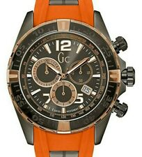 GUESS COLLECTION, SWISS MADE, MENS SPORTRACER CHRONOGRAPH WATCH, Y02012G5, NIB