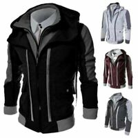 Jacket Coat Warm Sweater Hoodie Outwear Hooded Men's Sweatshirt Winter Tops