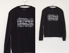Lulu & Co. Beyond Beyond Black 80's Sweatshirt XS/S