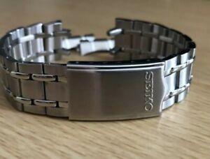 Seiko bellmatic,sports,diver mens watch bracelet strap 19mm lug band new
