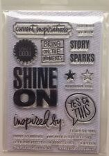 Ali Edwards Spark Shine On Story Stamp Project Life Scrapbooking New