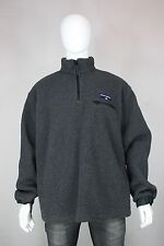 Ralph Lauren polo sport fleece jacket L vintage new 90's made in usa gray