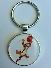 Key Chain Mickey Disney Winnie the Pooh Tigger Balloon Jumping Happy Hyper