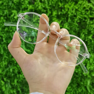 Fashion Women Glasses Frame Men Transparent Spectacle Optical Lens Clear Round
