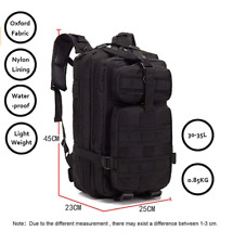 30L Outdoor Military Molle Tactical Backpack Rucksack Camping Bag Travel Hiking