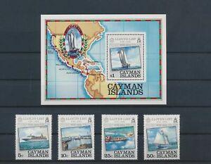 LO13157 Cayman Islands boats sailing ships fine lot MNH