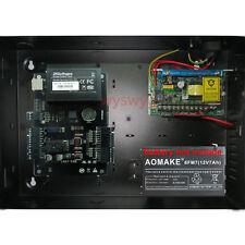Single Door TCP/IP ID IC Card Access Control AC100V-240V Battery Backup ZK C-100