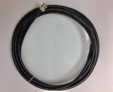 125 Ft HD-SDI 3G-SDI RG6 Coax BNC Male High Definition Video Black Direct Burial