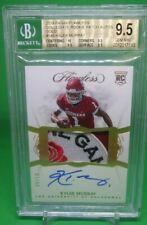 2019 FLAWLESS KYLER MURRAY ROSE BOWL PATCH AUTO ROOKIE #D 4/10 BGS 9.5 /10 TRUE+