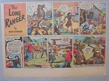 Lone Ranger Sunday Page by Fran Striker and Charles Flanders from 4/28/1940