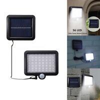 Waterproof LED Solar Powered PIR Motion Sensor Wall Light Outdoor Garden Lamp KK